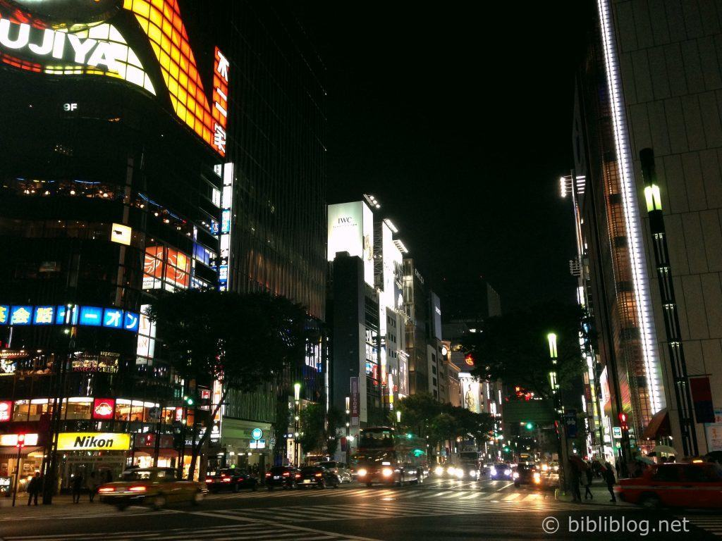 Ginza-Tokyo-nuit