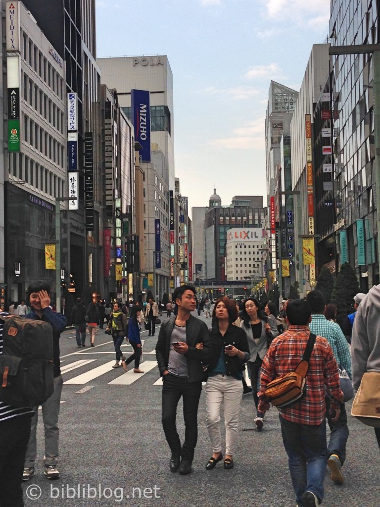 Ginza-Tokyo-rue
