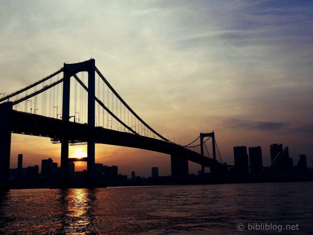 Odaiba-tokyo-sunset-pont