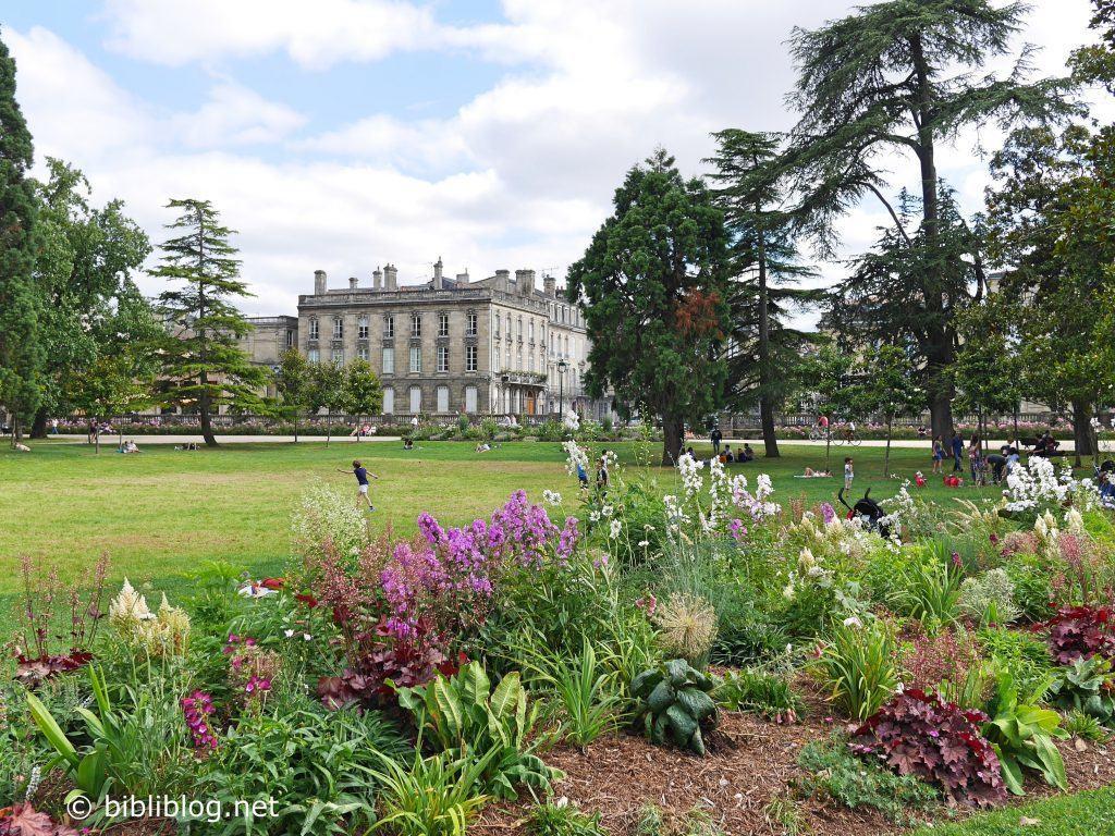 Bordeaux les incontournables du centre ville for Jardin public