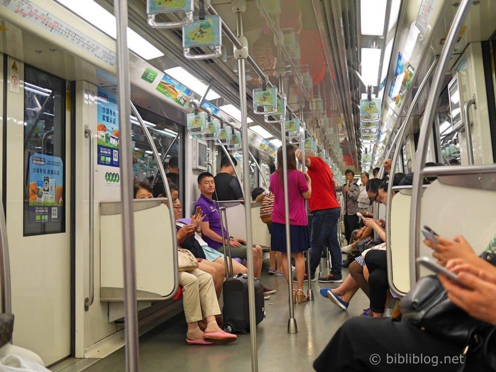 métro-shanghai