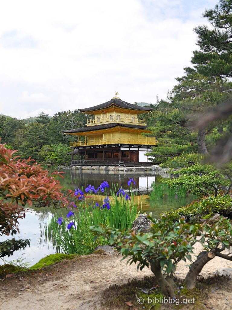 kinkakuji temple d'or Kyoto
