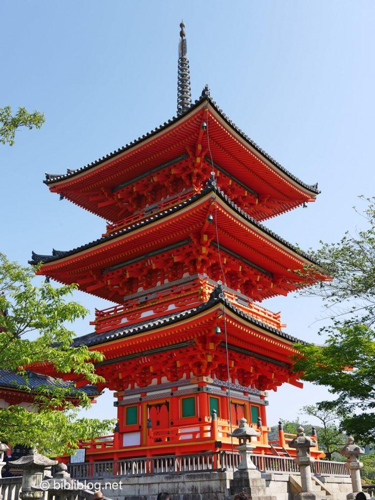 kiyomizu-pagode