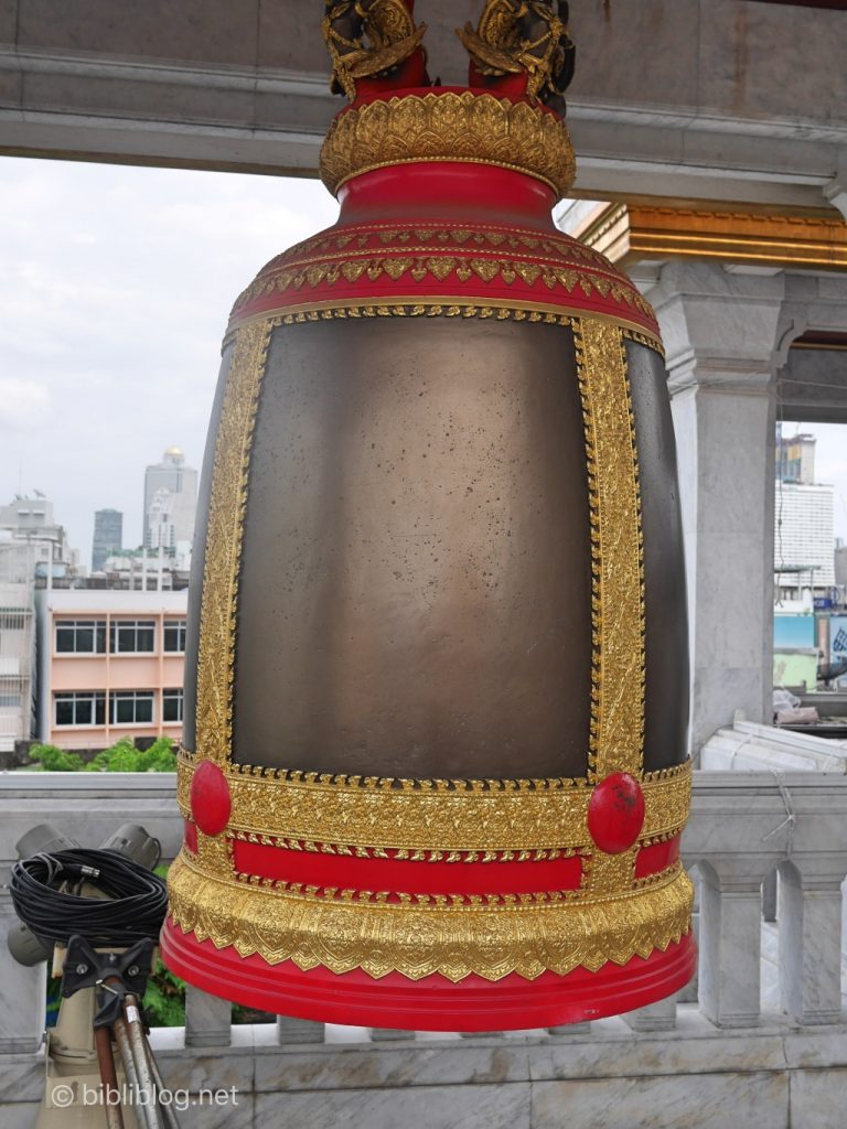 cloche Bouddha doré Bangkok