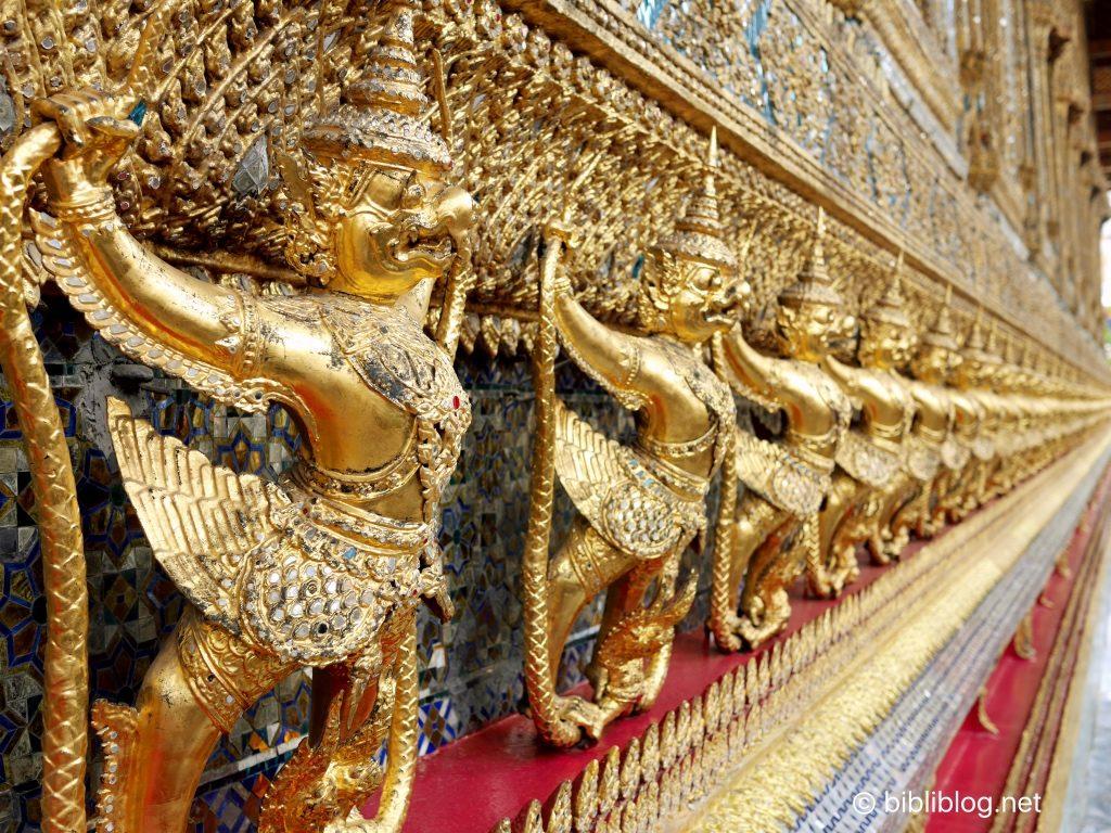 Thaïlande Bangkok palais impérial extérieur bouddha émeraude