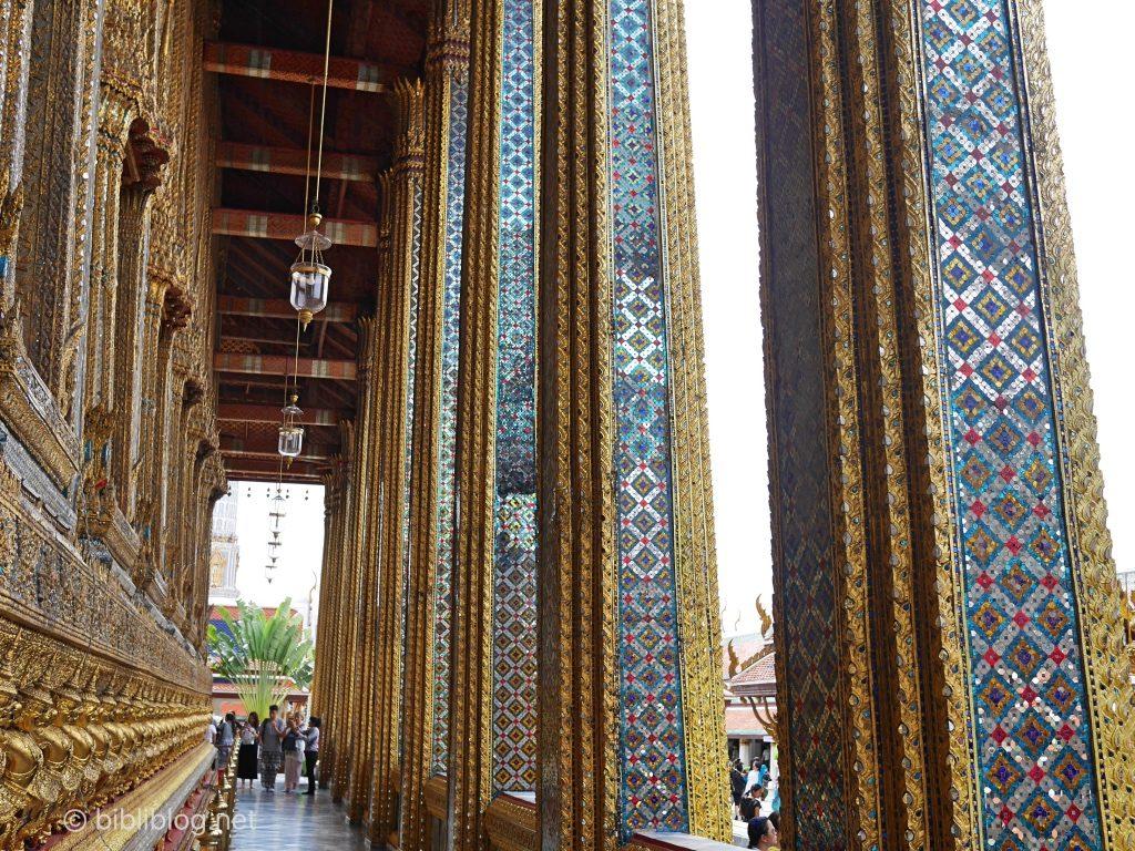 Thaïlande Bangkok palais impérial galerie Bouddha émeraude