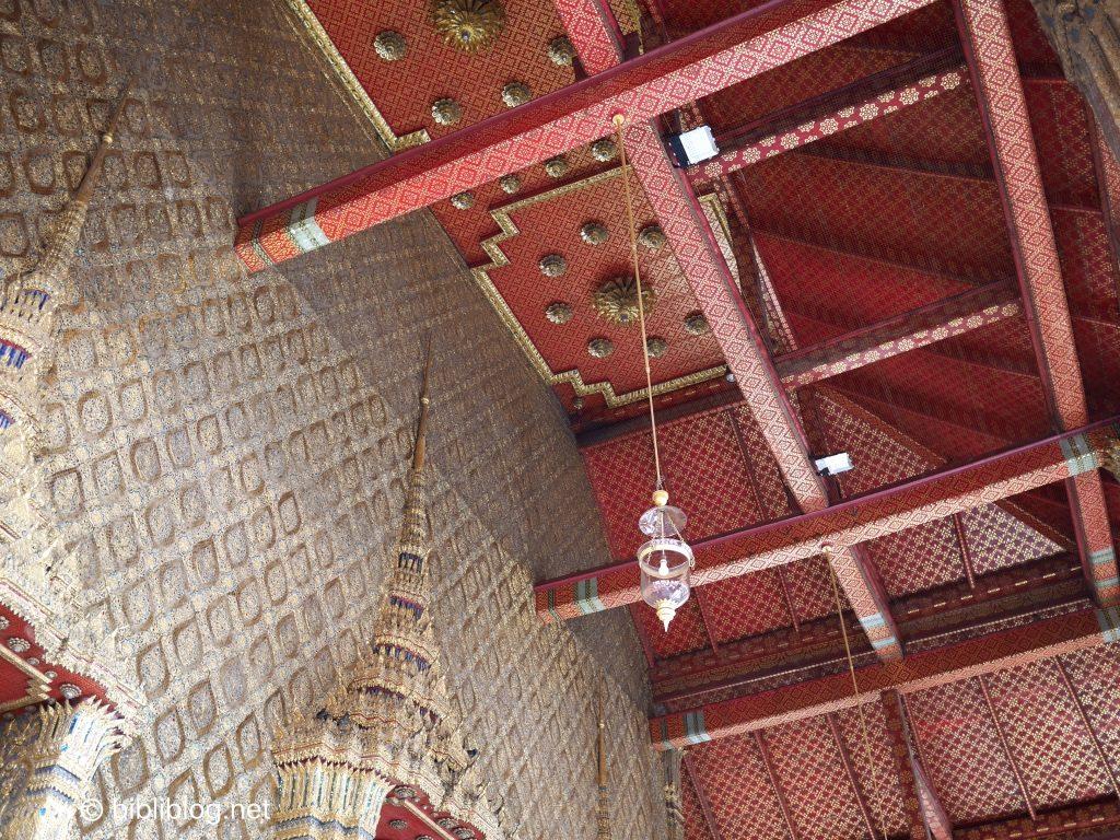 Thaïlande Bangkok palais impérial plafonds