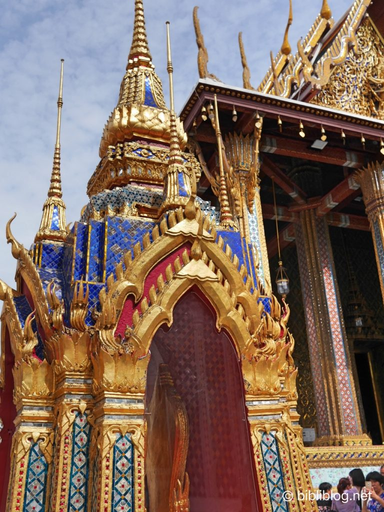 Thaïlande Bangkok palais impérial porte