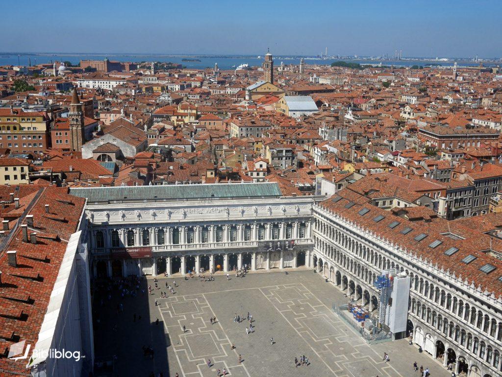 Venise vue place Saint Marc