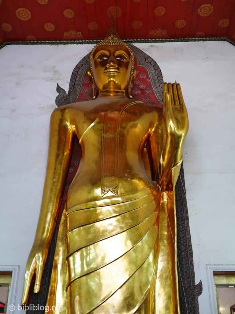 Bangkok Wat Pho Bouddha Lokanat