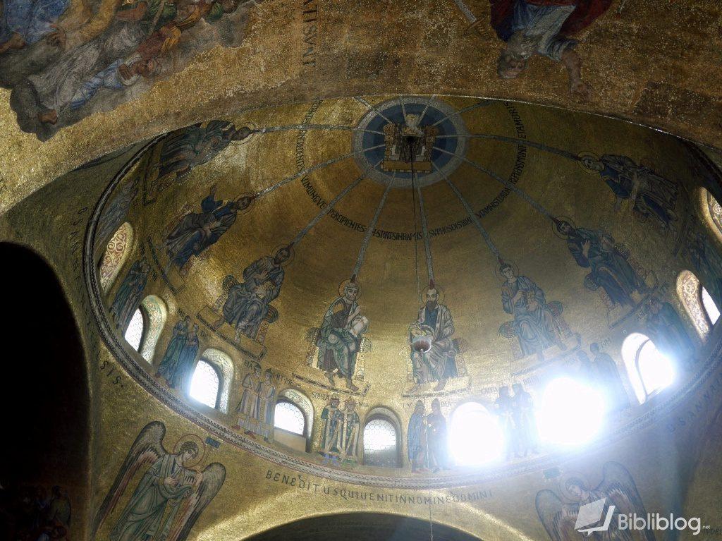 Coupole de la basilique San Marco à Venise