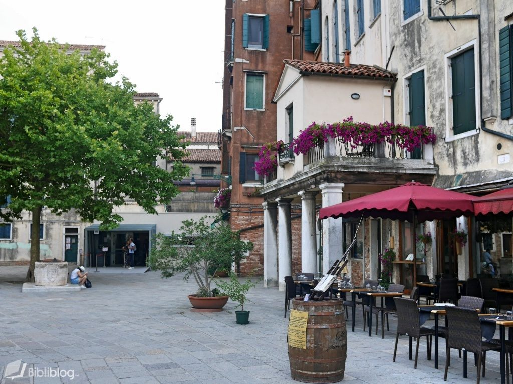 Venise ghetto juif