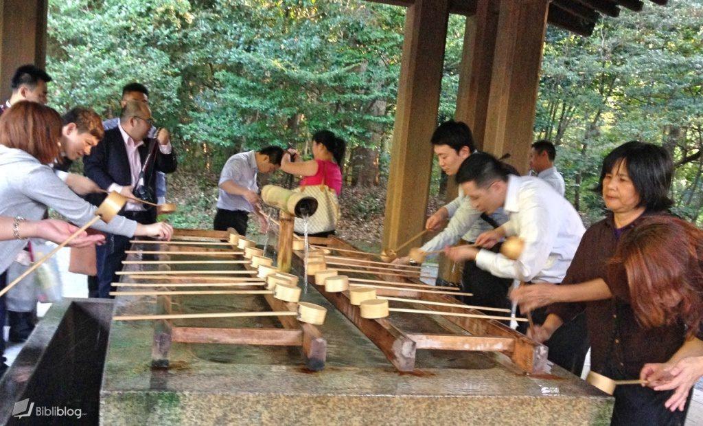 ablutions Japon