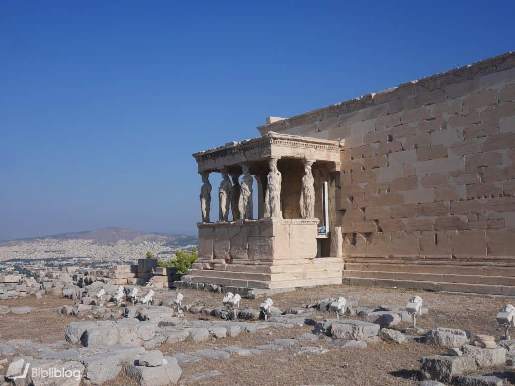 Caryatides-athenes