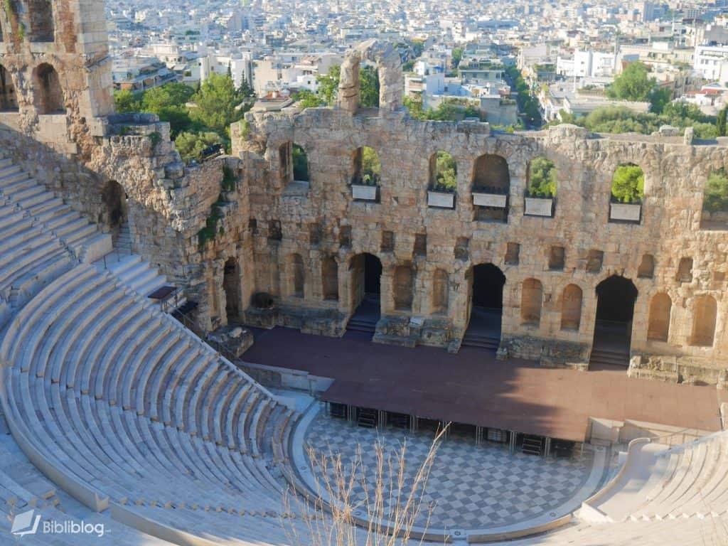 Odeon d'Hérode Atticus, Acropole d'Athènes