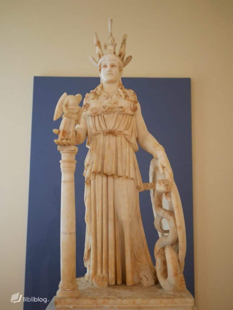 Statue Athéna