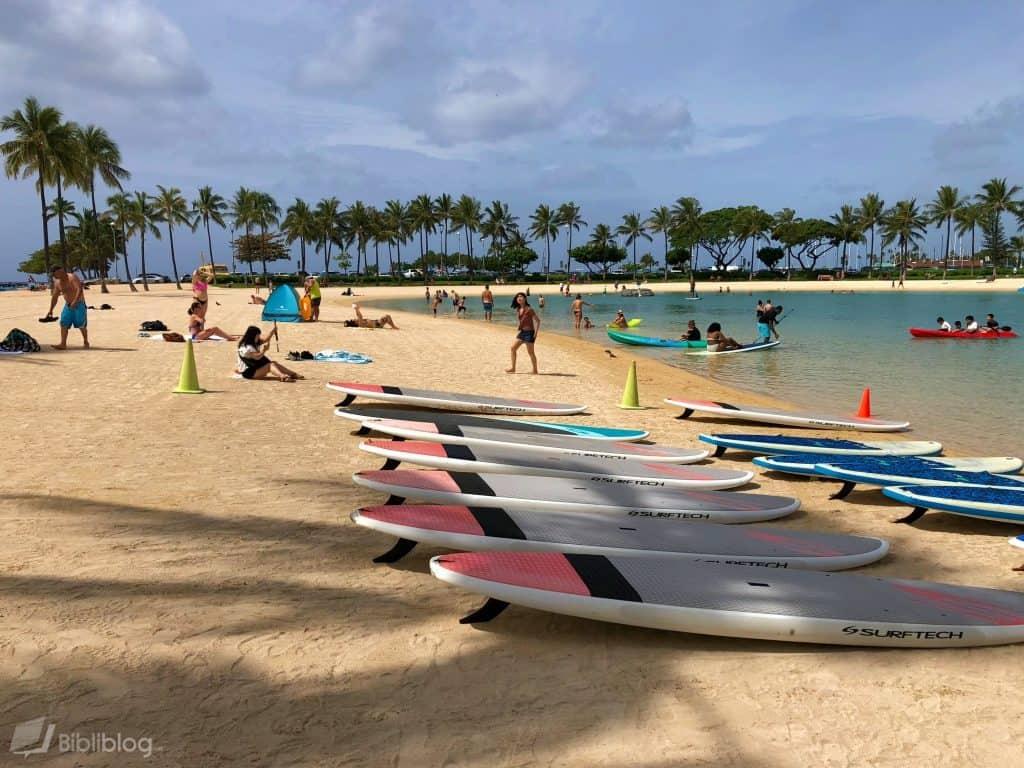 Honolulu-lagon