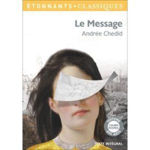 Le Message, d'Andrée Chédid